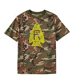 Polo Ralph Lauren® Boys' 2T-7 Short Sleeve Camo Printed Tee