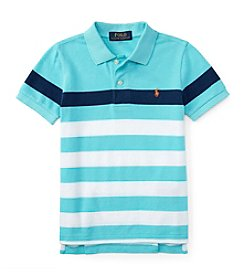 Polo Ralph Lauren® Boys' 2T-7 Short Sleeve Striped Polo