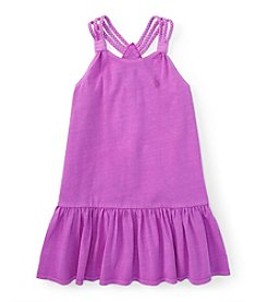 Polo Ralph Lauren® Girls' 7-16 Braided Tank Dress