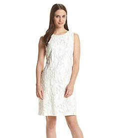 Jessica Howard® Floral Lace Trapeze Dress