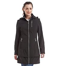 Betsey Johnson® Hooded Zip Coat