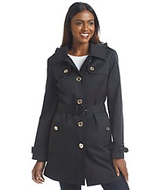 MICHAEL Michael Kors® Belted Sateen Trench Coat