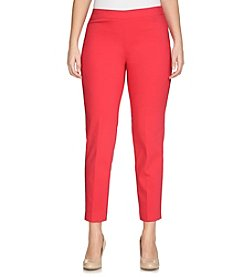 Chaus Courtney Side Zip Ankle Pants