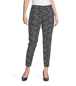 Chaus Stone Surf Courtney Side Zip Ankle Pants