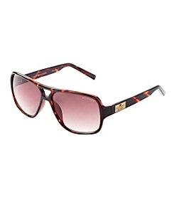 Tommy Hilfiger® Men's Tortoise Square Navigator Sunglasses