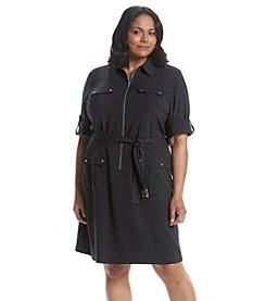 MICHAEL Michael Kors® Plus Size Woven Shirt Dress