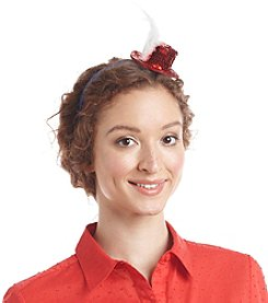 Studio Works® Red White And Blue Hat And Feather Headband