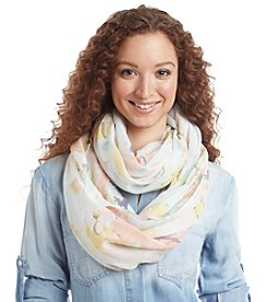 Basha Floral Oil Painted Scarf