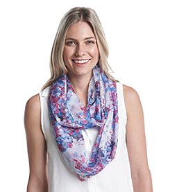Collection 18 Garden Floral Loop Scarf