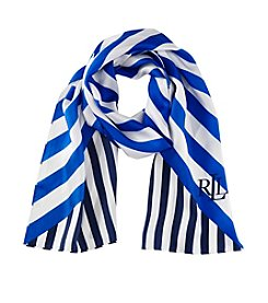 Lauren Ralph Lauren® Vanessa Striped Silk Scarf