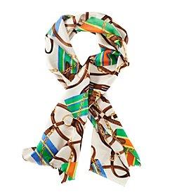 Lauren Ralph Lauren® Tania Equestrian Silk Scarf