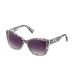Jessica Simpson Lace Print Sunglasses