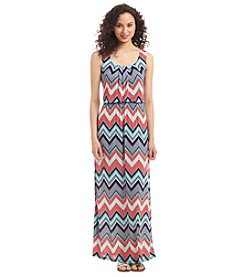Trixxi® Chevron Maxi Dress