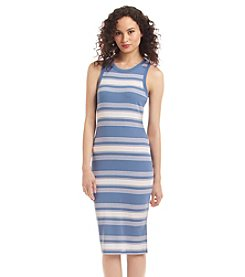 no comment™ Striped Midi Dress