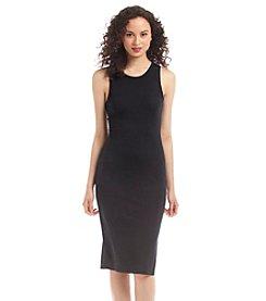 no comment Knit Midi Dress