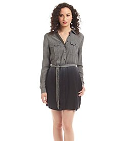 Kensie® Ombre Shirt Dress