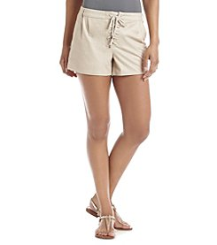 Sequin Hearts® Lace-Up Shorts
