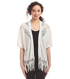 Sequin Hearts® Lace Kimono