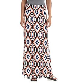 Sequin Hearts® Printed Maxi Skirt