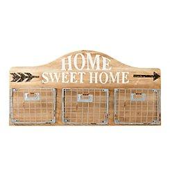 LivingQuarters Home Sweet Home Wood Wall Shelf