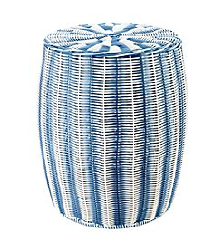 LivingQuarters Lake Collection Woven Stool