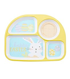 LivingQuarters Easter Four Section Tray