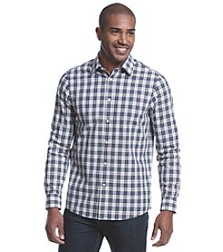 Michael Kors® Men's Tailored Hampton Check Button Down Long Sleeve Shirt