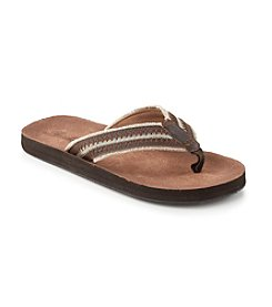 Paradise Collection® Men's Stitched Thong Flip Flop Sandals
