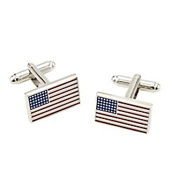 Kenneth Roberts® American Flag Cufflinks