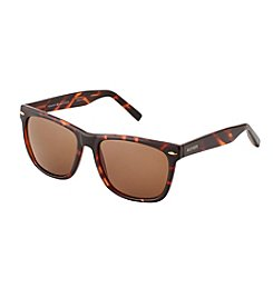 Tommy Hilfiger® Men's Tortoise Retro Square Sunglasses