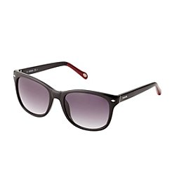 Fossil® Men's Dark Havana Retro Square Sunglasses