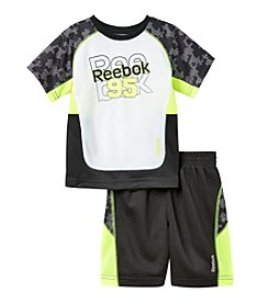Reebok® Boys' 2T-4T 2-Piece 95 Printed Performance Set