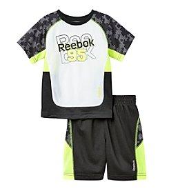 Reebok® Boys' 2T-4T 2-Piece 95 Printed Performance Set