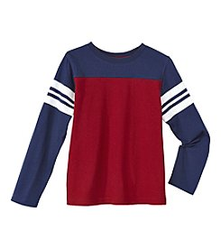 Mix & Match Boys' 2T-7 Long Sleeve Football Tee