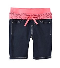 Squeeze® Girls' 2T-6X Knit Waistband Bermuda Shorts