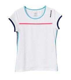 Reebok® Girls' 7-16 Short Sleeve Endless Summer Tee
