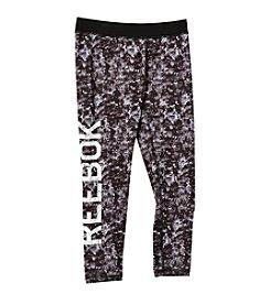 Reebok® Girls' 7-16 Sequin Printed Leggings
