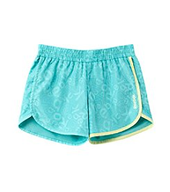 Reebok® Girls' 7-16 Falling Logo Shorts