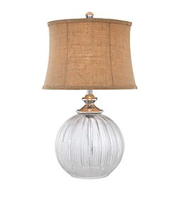 Catalina Lighting Beaded Glass Table Lamp