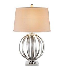 Catalina Lighting Metal Orb Table Lamp
