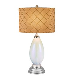 Catalina Lighting Opal Glass Table Lamp