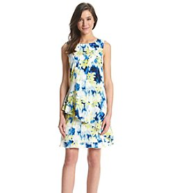 Tommy Hilfiger® Floral Ruffle Dress
