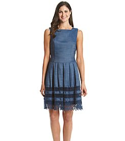 Tommy Hilfiger® Denim And Lace Dress