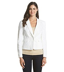 Nine West® Eyelet Blazer