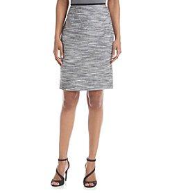 Calvin Klein Marled Straight Skirt