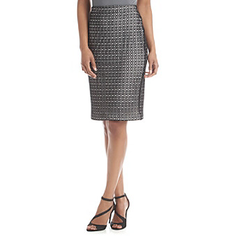 af2f4ab5f0 ... Pencil Open Lace Skirt UPC 039372512224 product image for Vince Camuto®  Open Mesh Lace Skirt ...