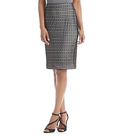Vince Camuto® Open Mesh Lace Skirt