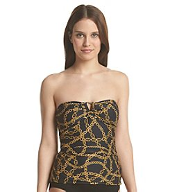 MICHAEL Michael Kors® Shirred Chain Print Bandini Top