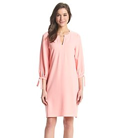 Lennie Stretch Crepe Shift Dress