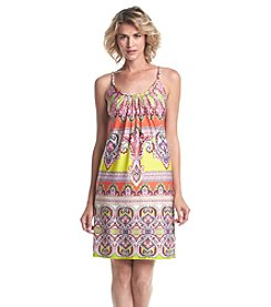 Prelude® Patterned Strap Dress